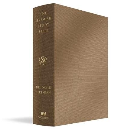 The Jeremiah Study Bible, Esv, Bronze Leatherluxe®: What It Says. What It Means. What It Means For You. by David Jeremiah