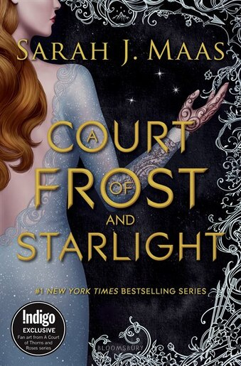 A Court of Frost and Starlight: Indigo Exclusive Edition de Sarah J. Maas