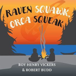 Book Raven Squawk, Orca Squeak by Roy Henry Vickers