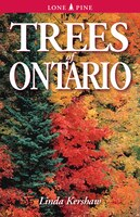 Book Trees of Ontario: Including Tall Shrubs by Linda Kershaw