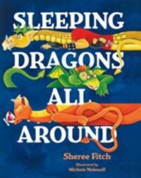 Book Sleeping Dragons All Around pb by Sheree Fitch
