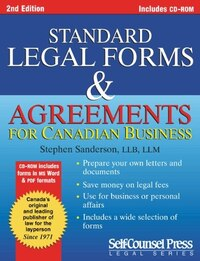 Standard Legal Forms & Agreements: Prepare Your Own Legal Documents