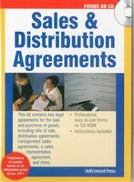 Sales, Distribution Agreements