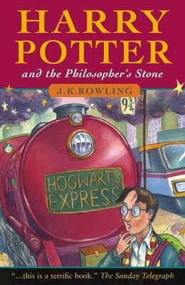 Book Harry Potter and the Philosopher's Stone Children's Paperback Edition by J.K. Rowling