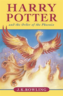 Book Harry Potter and the Order of The Phoenix by J.K. Rowling