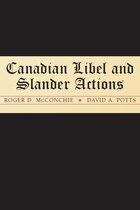 Canadian Libel and Slander Actions