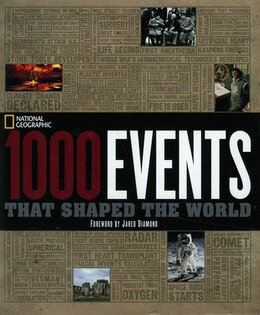 Book The 1000 Events That Shaped The World by National Geographic