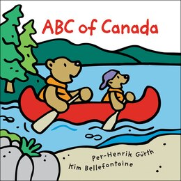 Book ABC of Canada by Kim Bellefontaine
