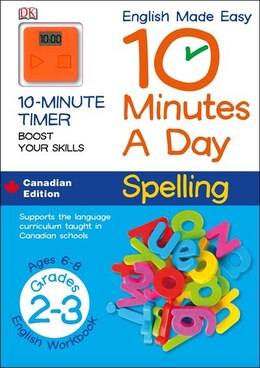 Book English Made Easy 10 Minutes A Day Spelling Grade 2 by Dorling Dk