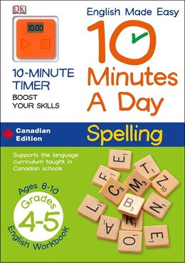 Book English Made Easy 10 Minutes A Day Spelling Grade 4 by Dorling Dk