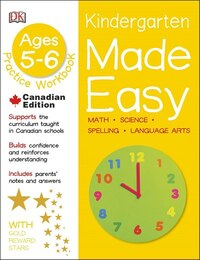 Made Easy Kindergarten: Math Science Spelling Language Arts