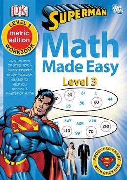 Book Math Made Easy Superman Level 3 by Dorling Kindersley