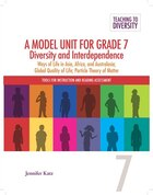 A Model Unit For Grade 7: Diversity And Interdenpendence: Ways Of Life In Asia, Africa, And…
