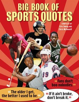 Book Big Book of Sports Quotes by Eric Zweig