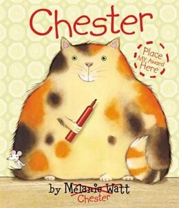 Book Chester by Mélanie Watt