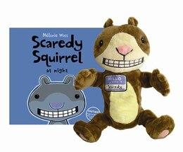 Book Scaredy Squirrel at Night Book & Puppet by Melanie Watt