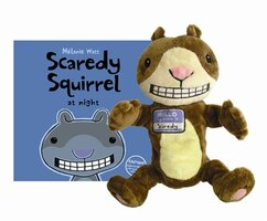 Scaredy Squirrel at Night Book & Puppet