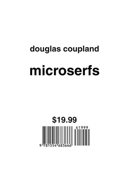 Book MICROSERFS by Douglas Coupland
