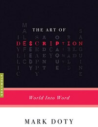 The Art Of Description: World into Word