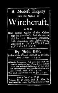 Modest Enquiry Into Nature Of Witchcraft