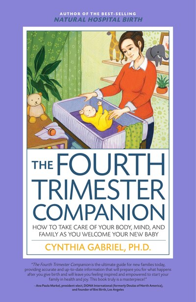 The Fourth Trimester Companion: How To Take Care Of Your Body, Mind, And Family As You Welcome Your New Baby by Cynthia Gabriel