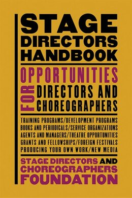 Book Stage Directors Handbook by David SDC Foundation