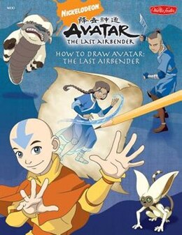 Book How To Draw Avatar: The Last Airbender by Shane Johnson