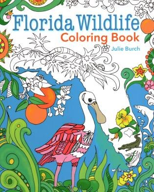 Florida Wildlife Coloring Book, Book by Julie Burch (Paperback ...
