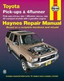Toyota Pickups and 4-Runner, 1979-1995 by John Haynes