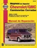 Chevrolet/GMC camionetas cerradas 1968 al 1995
