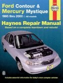 Ford Contour and Mercury Mystique, 1995-2000 by John Haynes