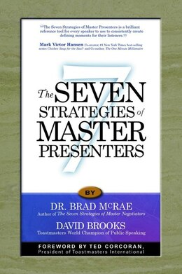 Book Seven Strategies of Master Presenters by Brad McRae