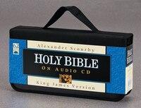 SCOURBY KJV AUDIO BIBLE, CD: 56 CDs - Nylon Cass - Black
