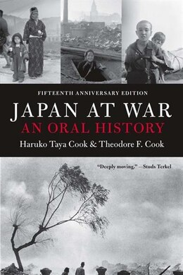 Book Japan At War: An Oral History by Haruko Taya Cook