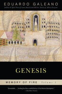 Book Genesis: Memory of Fire, Volume 1 by Eduardo Galeano