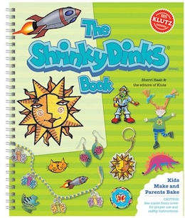 Book The Shrinky Dinks Book: The Ultimate Book of Plastic Shrink Art by Sherri Haab