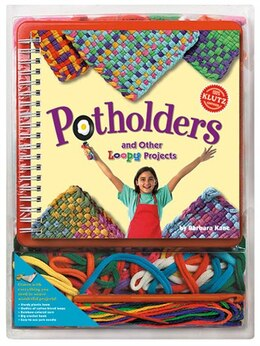 Book Potholders and Other Loopy Projects by Barbara Kane