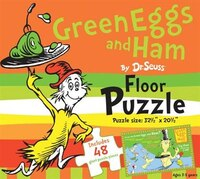 Green Eggs And Ham By Dr. Seuss Floor Puzzle: Includes 48 Giant Puzzle Pieces