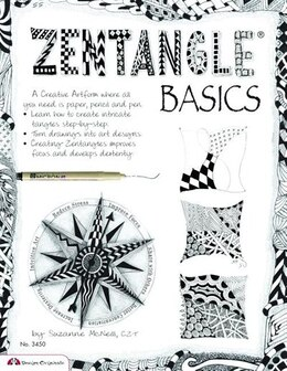 Book Zentangle Basics: A Creative Art form Where All You Need Is Paper Pencil & Pen by Suzanne McNeill