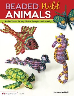 Book Beaded Wild Animals: Puffy Critters for Key Chains, Dangles, and Jewelry by Suzanne McNeill