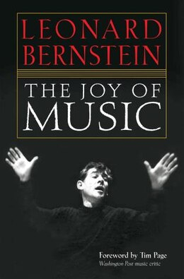 Book The Joy of Music by Leonard Bernstein
