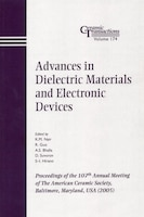 Advances in Dielectric Materials and Electronic Devices: Proceedings of the 107th Annual Meeting of…