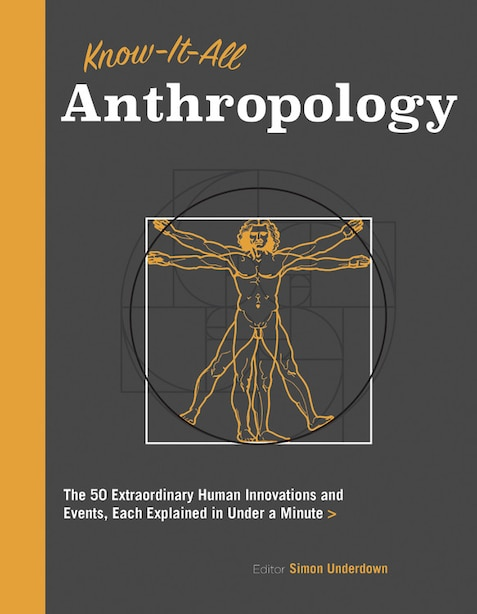 Know It All Anthropology: The 50 Most Important Ideas In Anthropology, Each Explained In Under A Minute by Simon Underdown