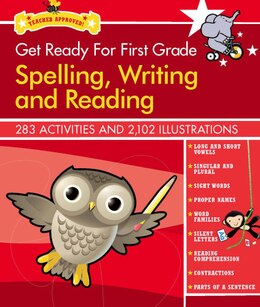 Book Get Ready for First Grade: Spelling, Writing and Reading by Athena Anna Lima