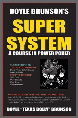 Book Doyle Brunson's Super System by Doyle Brunson