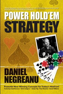 Book Power Hold'em Strategy by Daniel Negreanu