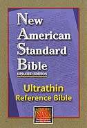 Ultrathin Reference Bible-NASB by Lockman Foundation