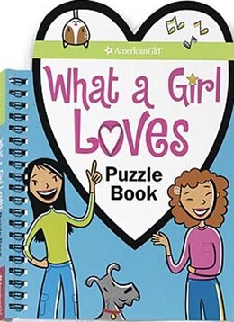 Book What A Girl Loves Puzzle Book by Trula Magruder