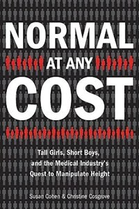 Normal At Any Cost by Susan Cohen