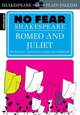 Book Romeo and Juliet (No Fear Shakespeare) by Sparknotes